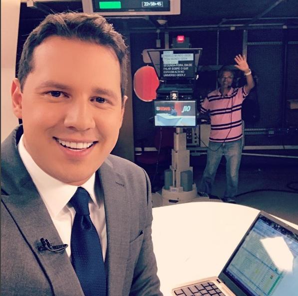 Dony de Nuccio cresce dentro da Globo e é cotado para o Jornal Nacional