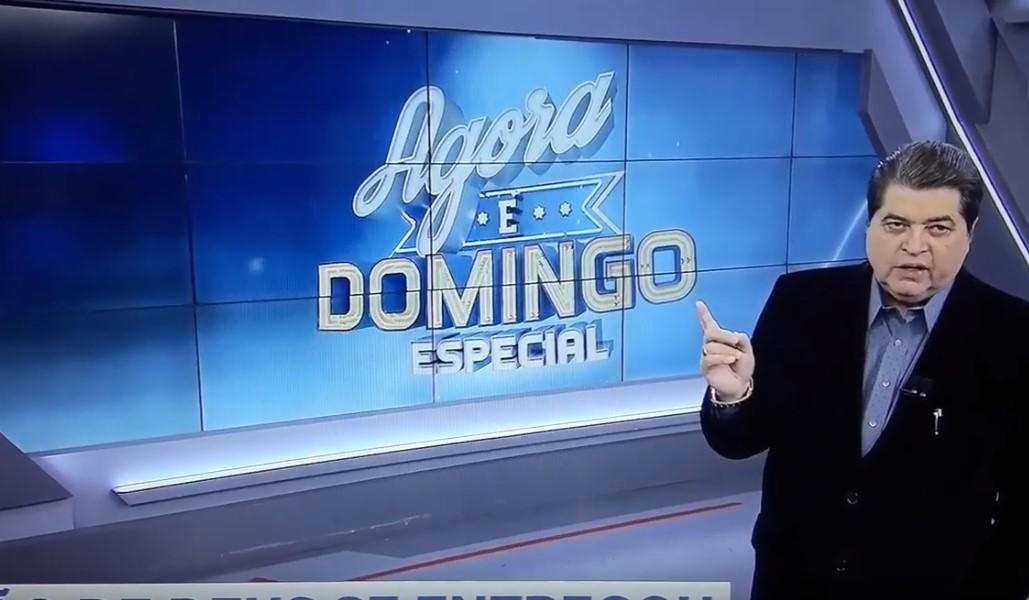 """Após Band cancelar 'Agora é Domingo' Datena dispara: """"Foi por culpa minha"""""""
