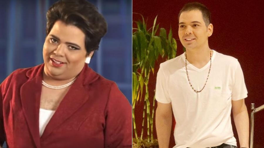 """Humorista perde 35 quilos após cirurgia bariátrica e dispara: """"agora sou Dilma com pescoço"""""""