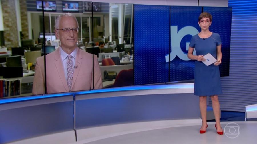 Lo Prete e Jorge pontual negam indireta a ministra, após vestirem azul e rosa