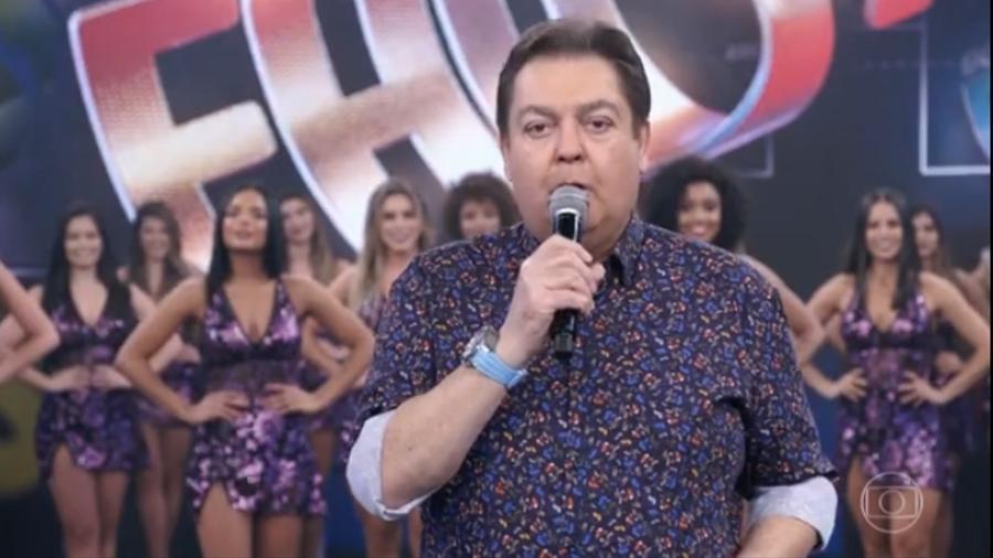 """Fausto Silva chama político de """"imbecil"""" e irrita eleitores de Jair Bolsonaro"""