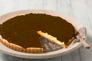 Receita da revista da Catia: Torta mousse de maracujá