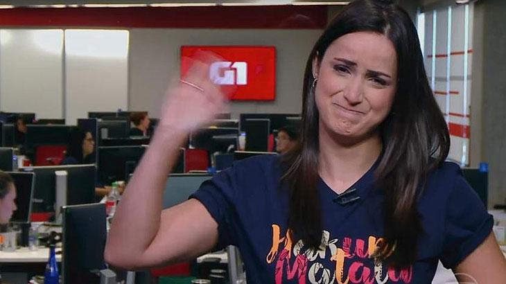 Mari Palma troca de função na Globo e desabafa nas redes sociais