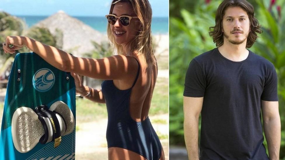 Após assumirem namoro, Caio Paduan e Cris Dias aparecem protagonizando momento romântico