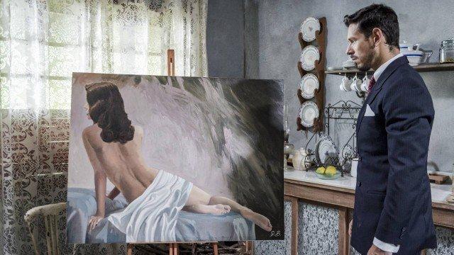 Espelho da Vida: Gustavo surta de ciúmes ao ver quadro de Julia nua