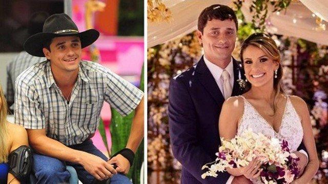 Cada vez mais rico, Fael, campeão do BBB12, se casa com dentista no MS