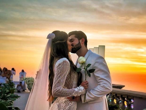 Alok surpreende e mostra vídeo de seu casamento luxuoso com Romana Novais