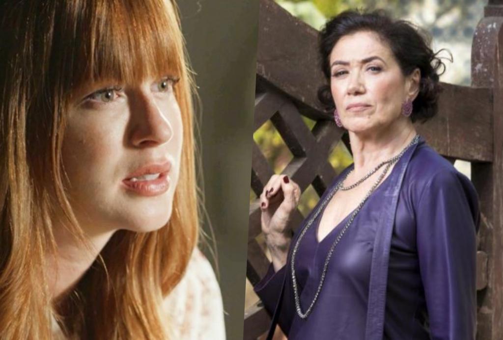 """Marina Ruy Barbosa e Lilia Cabral  brigam feio nos bastidores da Globo: """"Você está pensando que é quem?"""