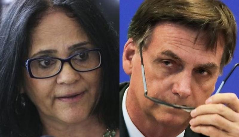 Globo humilha Jair Bolsonaro e chama sua ministra de idiota em rede nacional