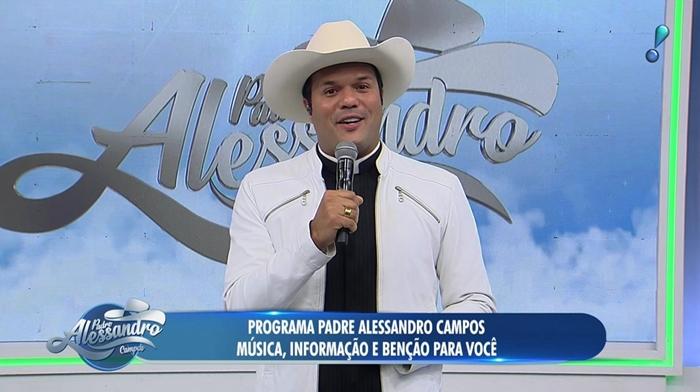 Padre Alessandro Campos estreia na RedeTV! e aumenta audiência da emissora