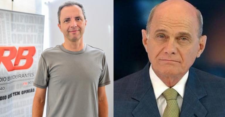 Colega de emissora de Ricardo Boechat lamenta morte do amigo e se despede