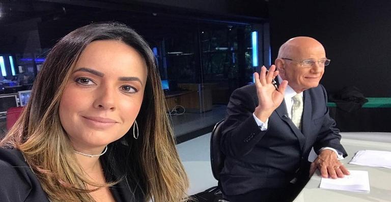 Paloma Tocci faz publicação emocionante sobre seu ex-colega de bancada Ricardo Boechat