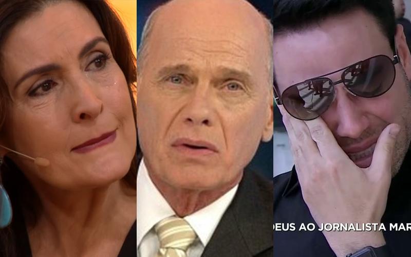 Jornalistas da Globo e da Record se desesperam com a morte de Ricardo Boechat e desabafam