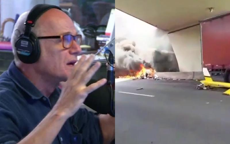 Vídeo mostra o momento exato da queda do helicóptero de Ricardo Boechat