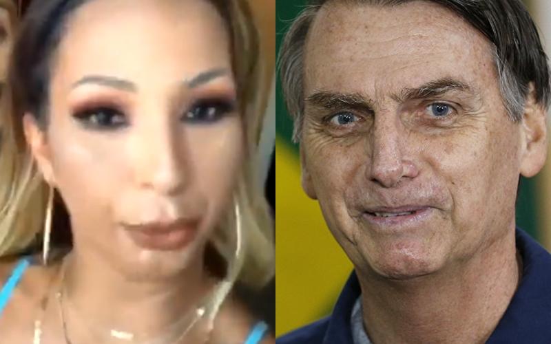 "Valesca Popozuda defende apoiador de Jair Bolsonaro e vai parar no fundo do poço: ""#RIPValesca"""