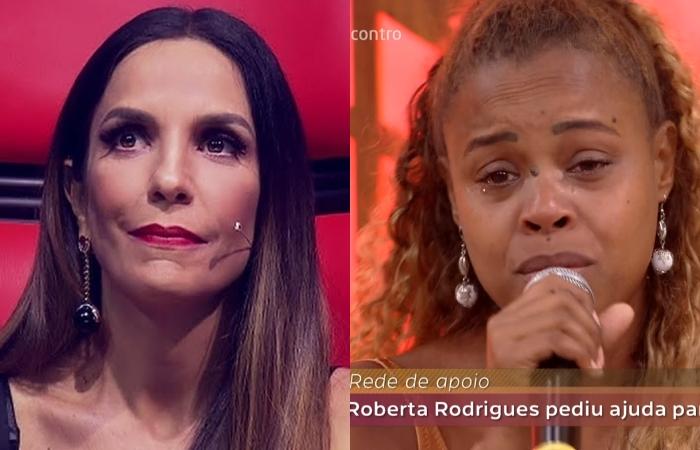 Ivete Sangalo surpreende e doa caminhão de alimentos para ajudar atriz Roberta Rodrigues
