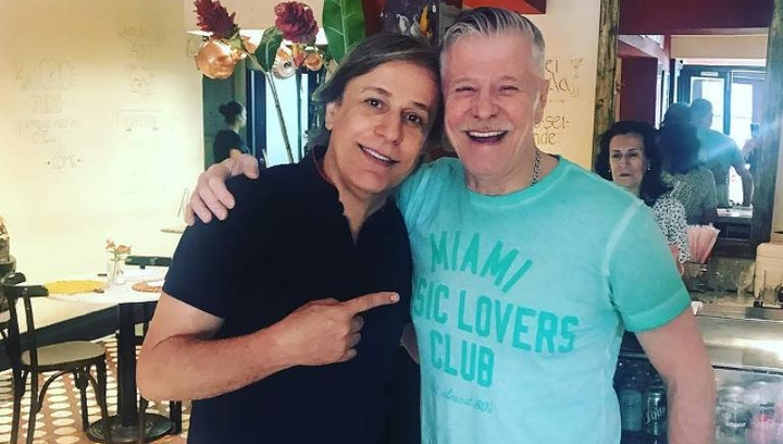 Tom Cavalcante e Miguel Falabella vivem casal gay em novo projeto para a Globo