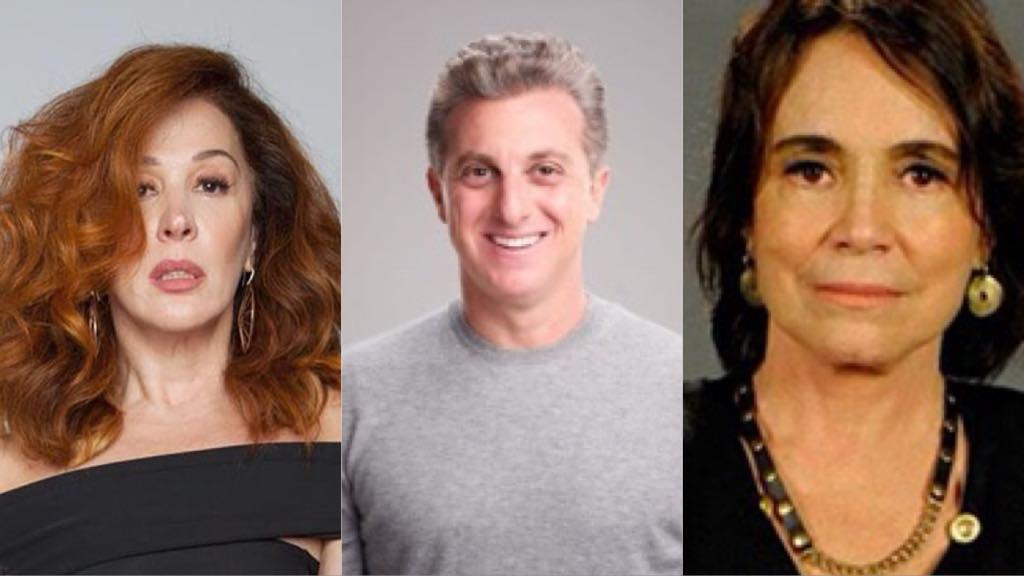 Cláudia Raia, Luciano Huck e Regina Duarte: Famosos se envolvem com político e recebem questionamentos e críticas do público