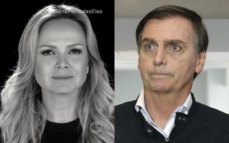 Eliana se junta com atores da Globo na luta contra ideais de Jair Bolsonaro
