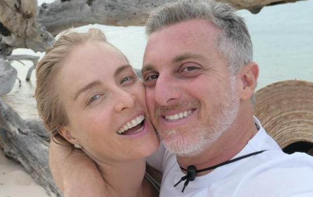 Casados desde 2004, Luciano Huck se declara para Angélica no Valentine's Day