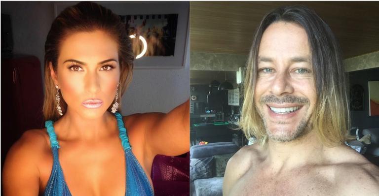 """Lívia Andrade se pronuncia e rebate críticas de Theo Becker após polêmica: """"Vou me preocupar"""""""