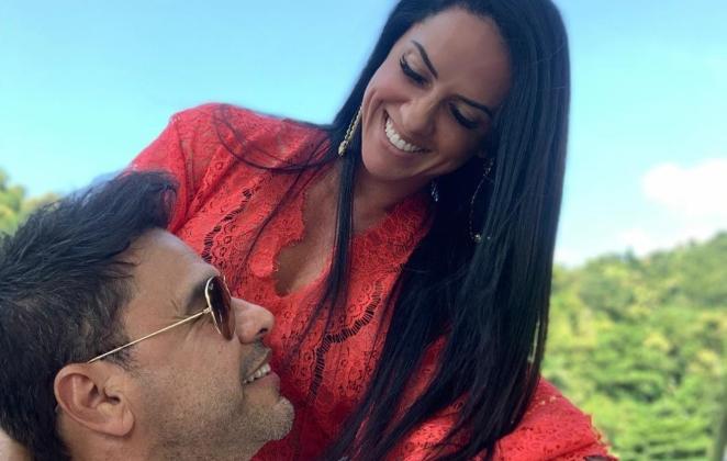 """Graciele Lacerda realiza sonho de vida e manda recado para Zezé Di Camargo: """"Você me ensinou"""""""