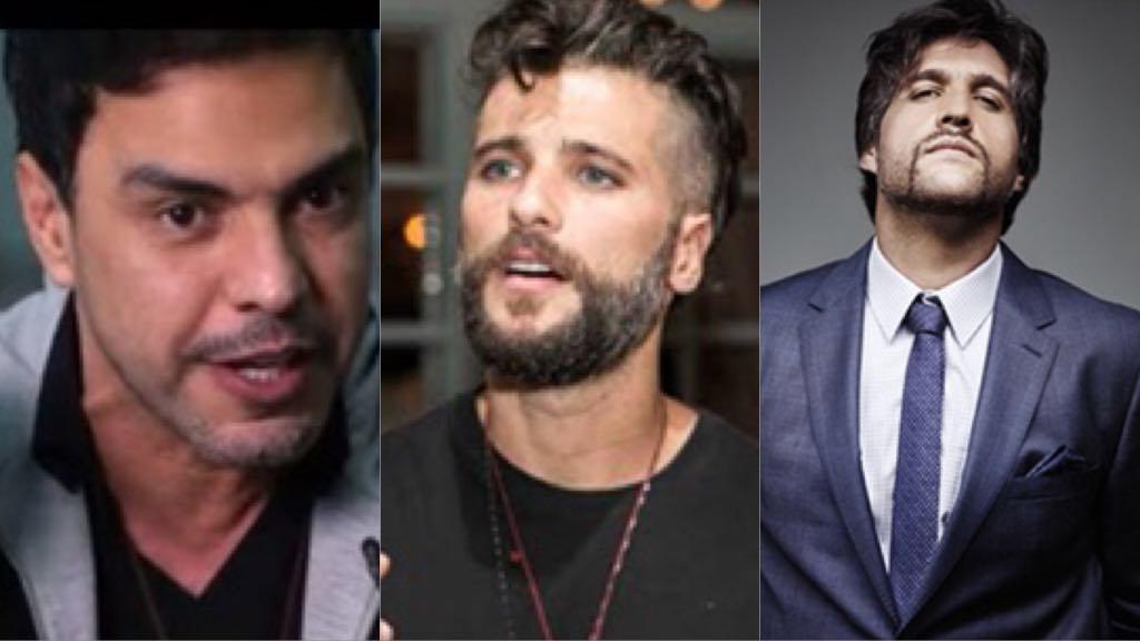 """Zezé Di Camargo, Vitor e Léo, Bruno Gagliasso e outros irmãos famosos entram em """"pé de guerra"""" e tem verdades expostas"""