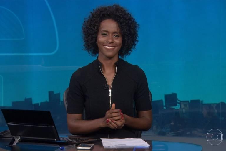 Maju quebra padrões e bate de frente com racismo em estreia no Jornal Nacional