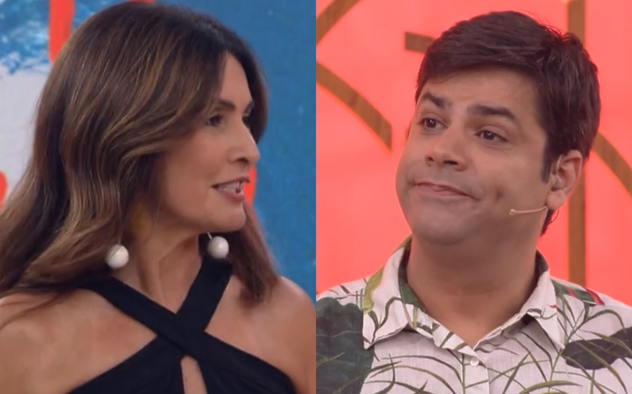 """Fátima Bernardes diz que se afastou da Globo para descansar e colega rebate na lata: """"Descanso no Carnaval"""""""
