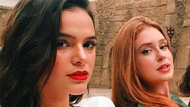 Após polêmica com José Loreto, Bruna Marquezine se revolta com Marina Ruy Barbosa e toma atitude