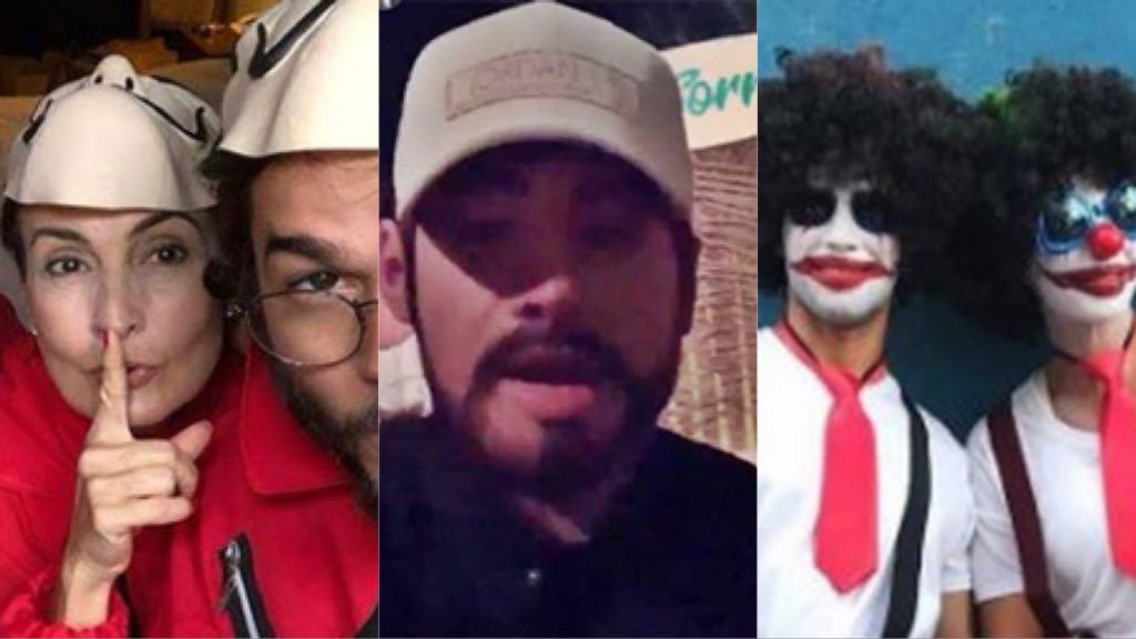 Famosos como Fátima Bernardes, Ivete Sangalo e Neymar usam disfarces nas ruas para fugir dos fãs, são flagrados e verdade vem à tona
