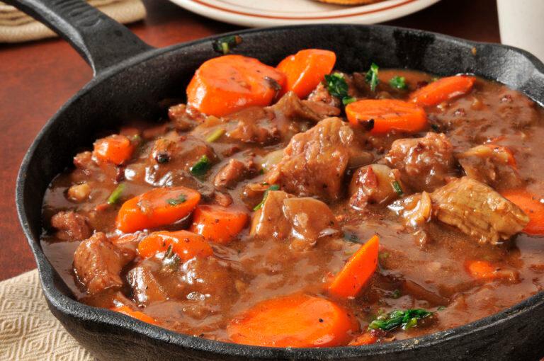 Receita de família: Carne com legumes
