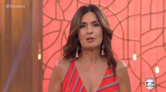 """Mãe de filho morto em incêndio no Flamengo faz Fátima Bernardes chorar comovida: """"Ela fala de esperança"""""""