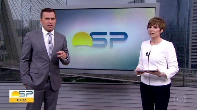 Rodrigo Bocardi e Glória Vanique vivem em clima de amizade na Globo e espantam todos os boatos