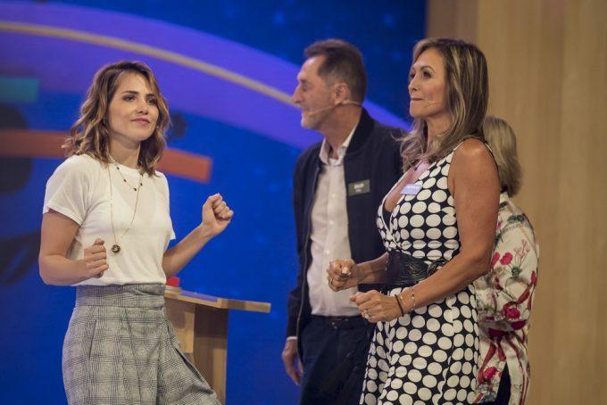 Atriz da Globo, Letícia Colin grava Tamanho Família e exalta tia que integrou Domingão do Faustão