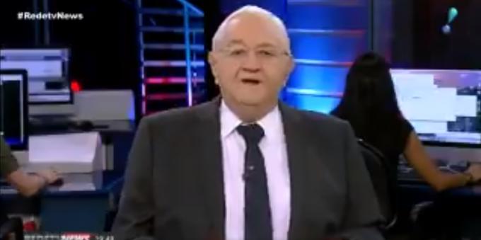 Boris Casoy sofre grave acidente e é afastado da TV