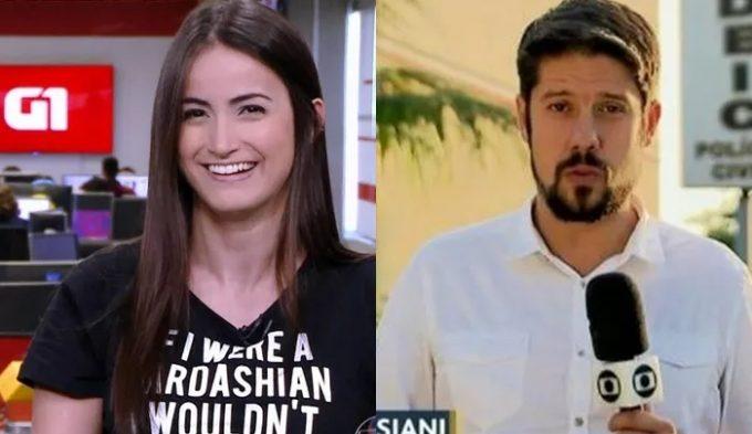 Namorado de Mari Palma cria situação constrangedora em casamento de jornalista da Globo