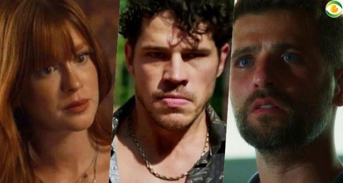 Por traição de José Loreto, Bruno Gagliasso e Marina Ruy Barbosa brigam e se ignoram em bastidor de O Sétimo Guardião