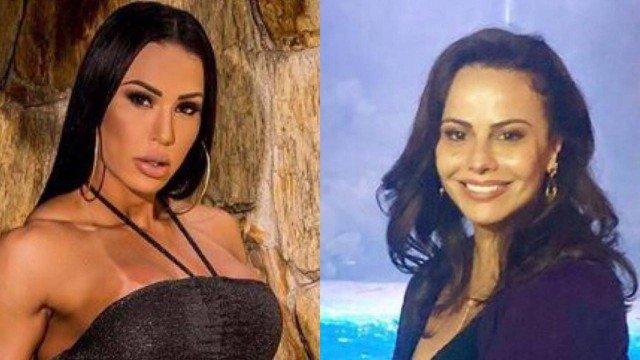 Gracyanne Barbosa se manifesta sobre rivalidade com Viviane Araújo, fala sobre comparações e verdade vem à tona