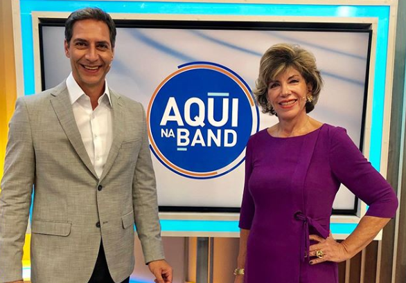 Aqui na Band, com Silvia Poppovic e Luís Ernesto Lacombe, ganha nova data de estreia