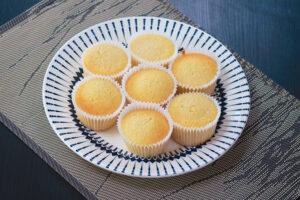 Massa cupcake de baunilha por Cíntia Costa