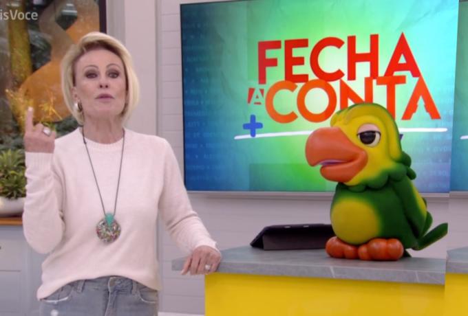 """Ana Maria Braga fica chocada com roupa de repórter ao vivo, não perdoa e discussão toma conta: """"Assim fico sem graça"""""""