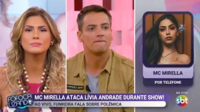 Lívia Andrade toma atitude chocante no meio de barraco com MC Mirella e humilha cantora ao vivo