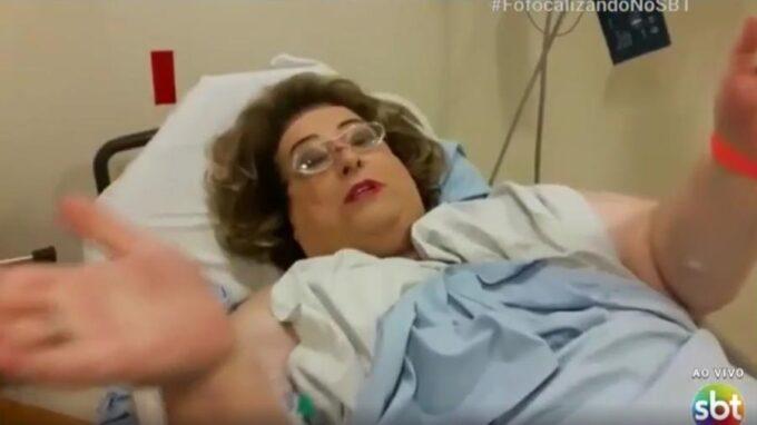 Com infecção em partes íntimas, Mamma Bruschetta passa mal e é internada em São Paulo