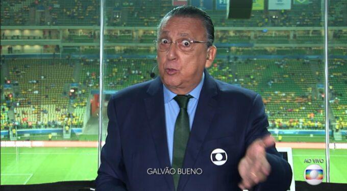 Galvão Bueno tem salário de R$1,5 milhão reduzido na Globo, descubra quanto o narrador passa a receber