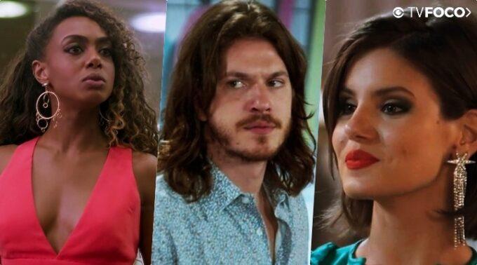 """Em Verão 90, Dandara terá coração quebrado ao ver Quinzinho com Vanessa: """"Biscate"""""""