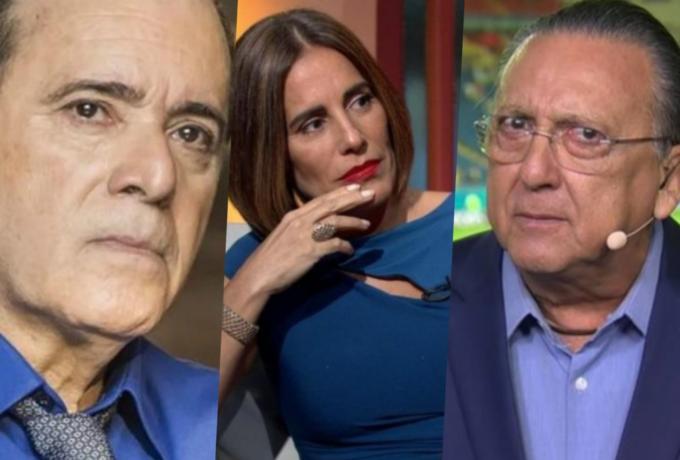 Globo tem debandada histórica de apresentadores e promove facão no salários de Galvão, Tony Ramos e Gloria Pires