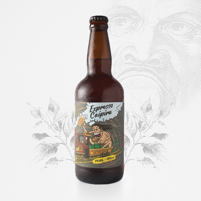 Expresso Caipira - Double IPA - 500 ml