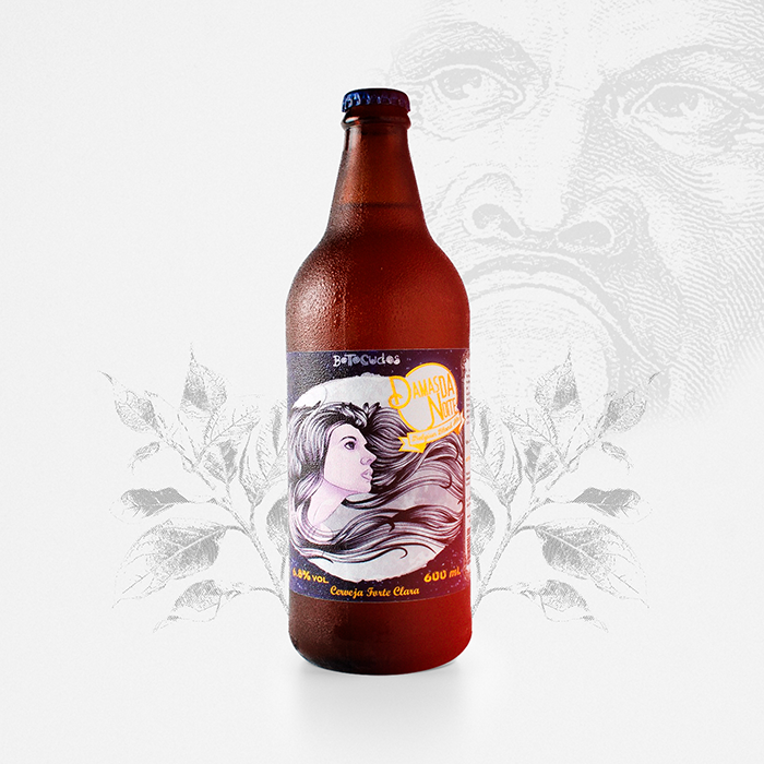 Damas da Noite - Belgian Blond Ale - 600 ml
