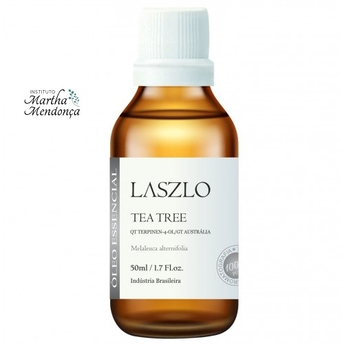 ÓLEO ESSENCIAL DE TEA TREE (QT TERPINEN-4-OL) GT AUSTRÁLIA 50ML